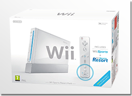 white wii sports pack